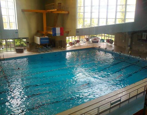 Piscine olympique municipale de colombes for Bois colombes piscine