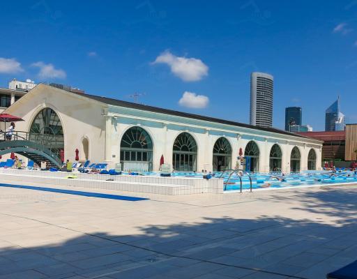Palais des sports de l 39 le de puteaux for Piscine puteaux