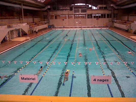 Piscine Georges Vallerey à Paris