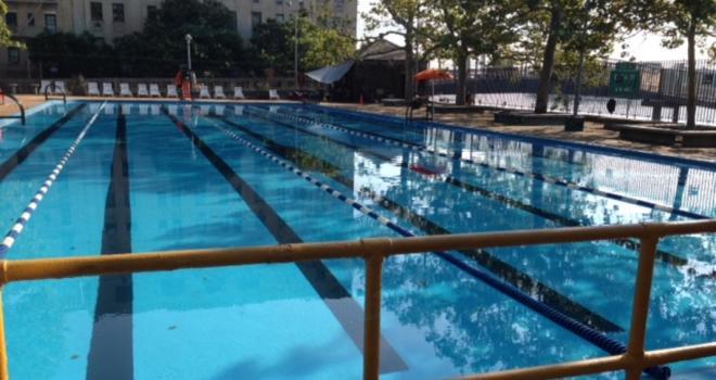 photo John Jay pool