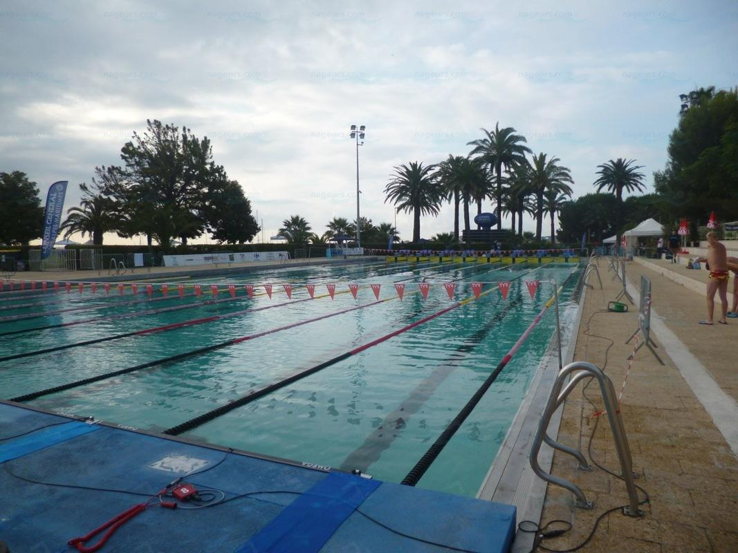 photos stade nautique piscine municipale antibes