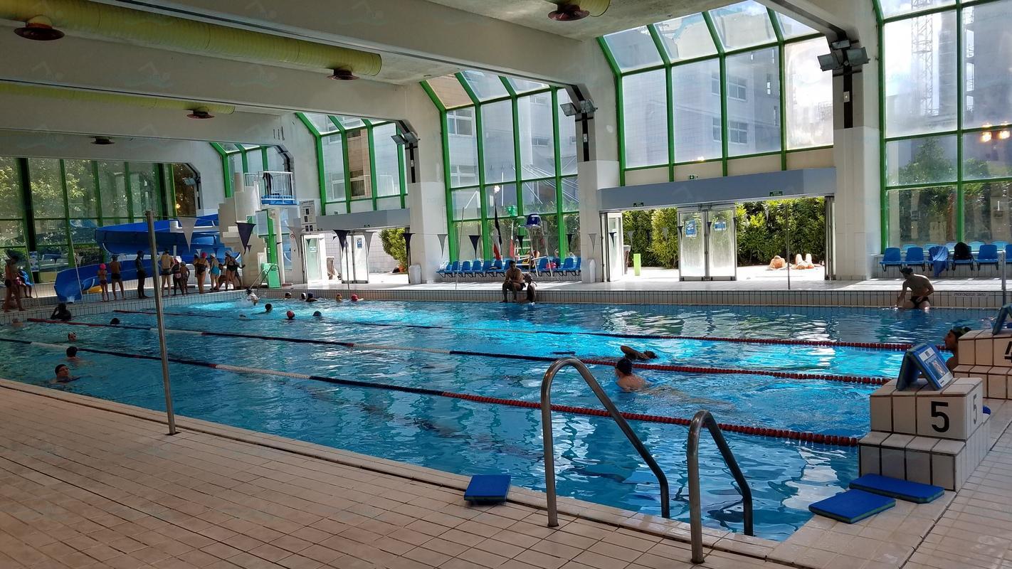 Photos piscine champerret for Horaires piscine beaujon