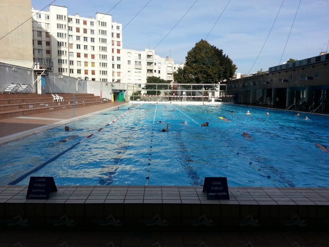 Photos piscine georges hermant for Piscine oberkampf