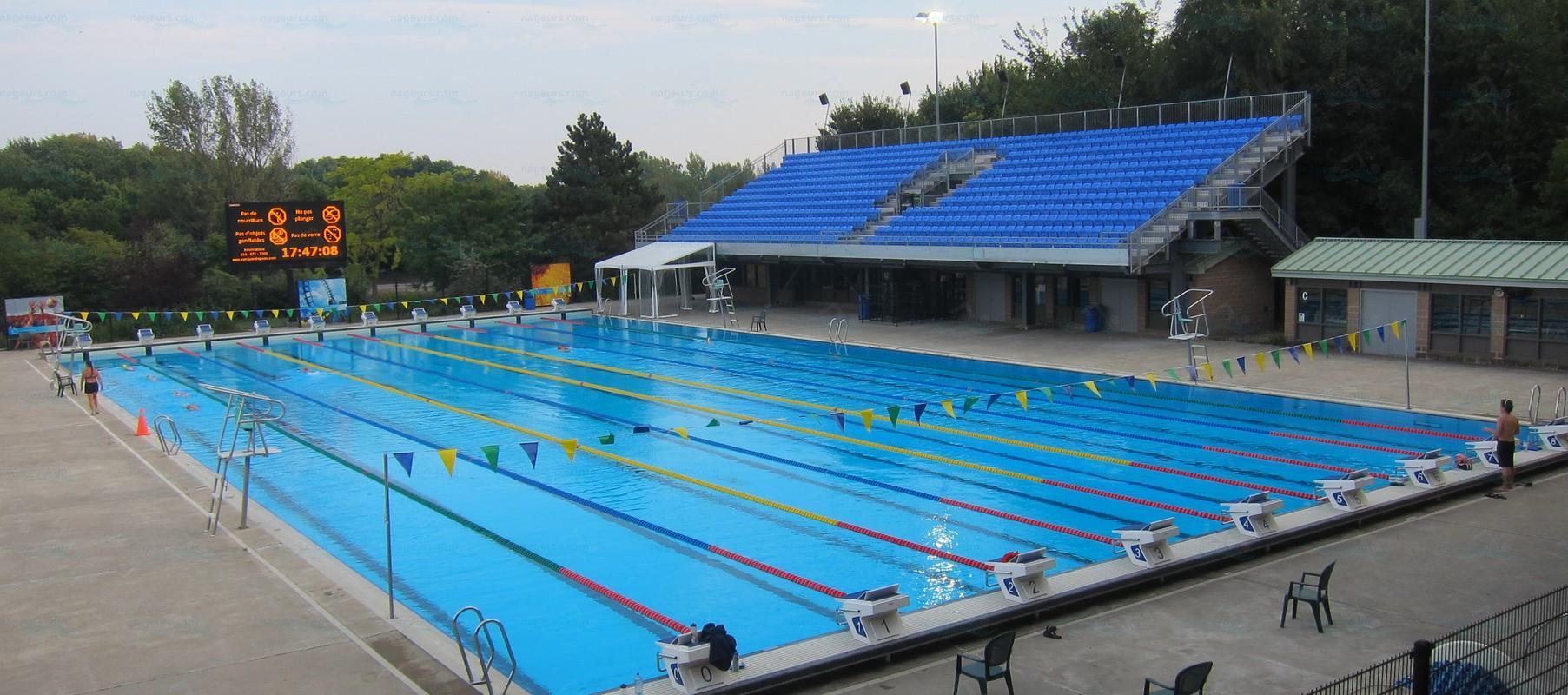 D coration piscine municipale montreal 21 paris stade - Piscine municipale hyeres ...