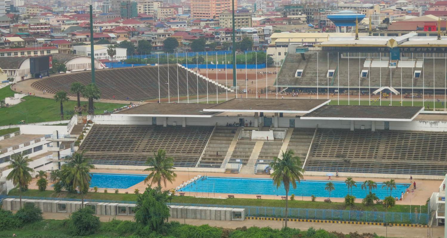 National Olympic Stadium Pool Phnom Penh
