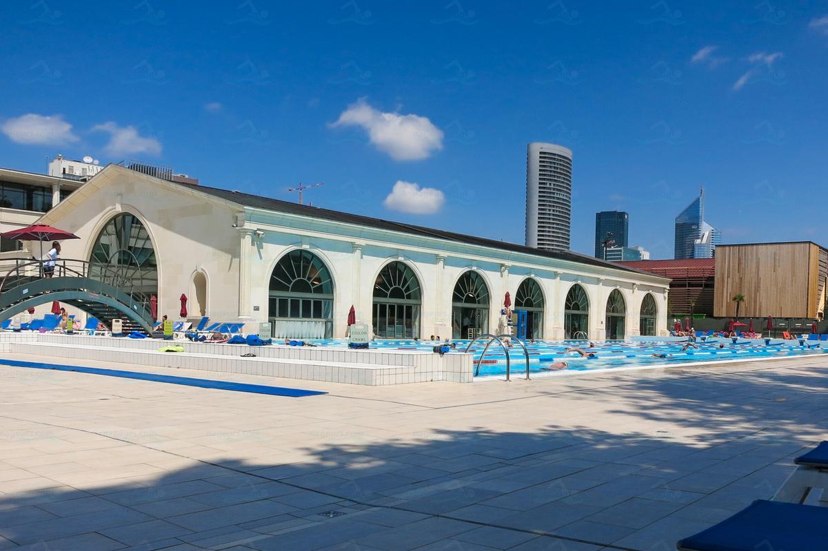 Photos palais des sports de l 39 le de puteaux for Claude robillard piscine horaire