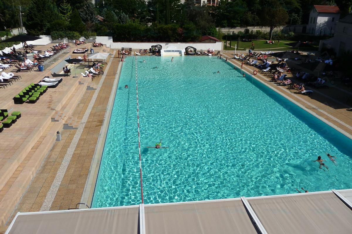 Le guide des 12 piscines de lyon for Piscine 50m paris
