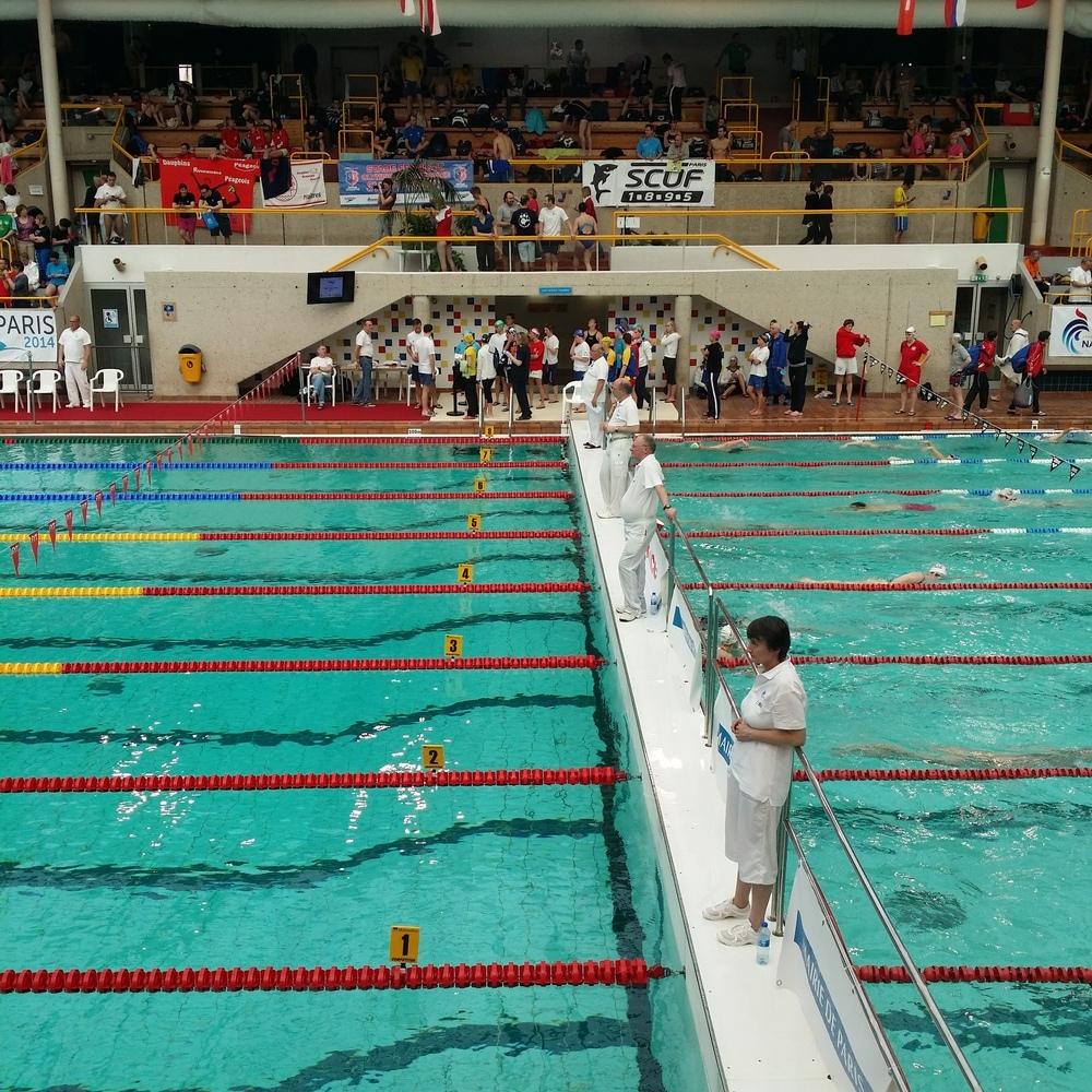 Championnats de france hiver des ma tres en bassin de for Piscine 50m paris