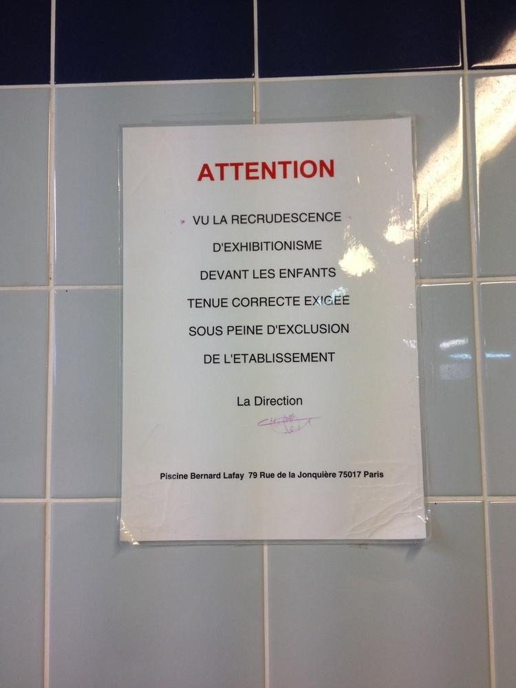 Fiche de vincentf - Piscine municipale bernard lafay ...