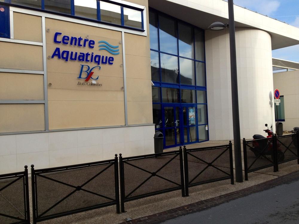 de mal 1er km terminé, les lignes sont retirées, la piscine va ~ Centre Aquatique De Bois Colombes