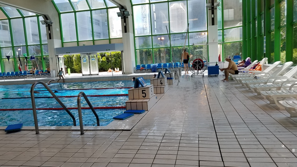Piscine champerret for Piscine georges vallerey