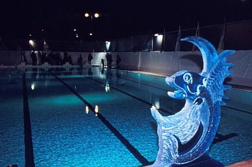 Articles nuit blanche 2008 la piscine de la butte aux for Buttes aux cailles piscine