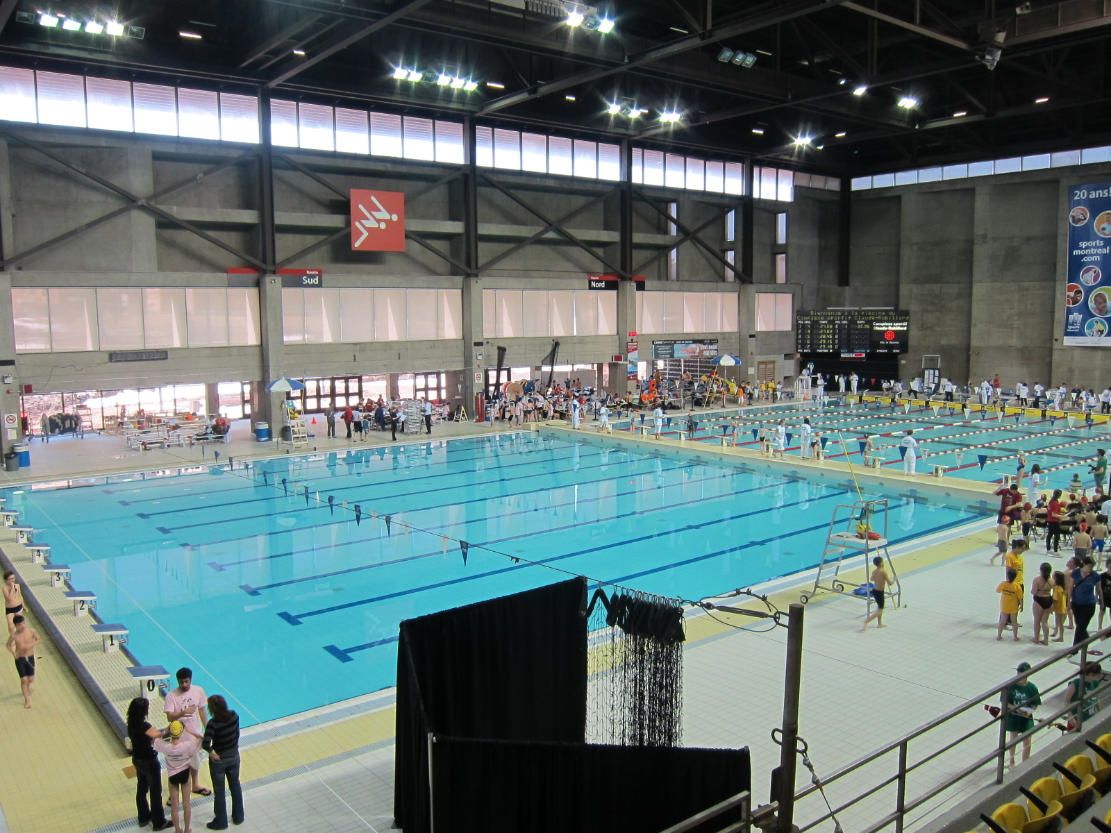 Natation vasion cr6 for Complexe sportif claude robillard piscine