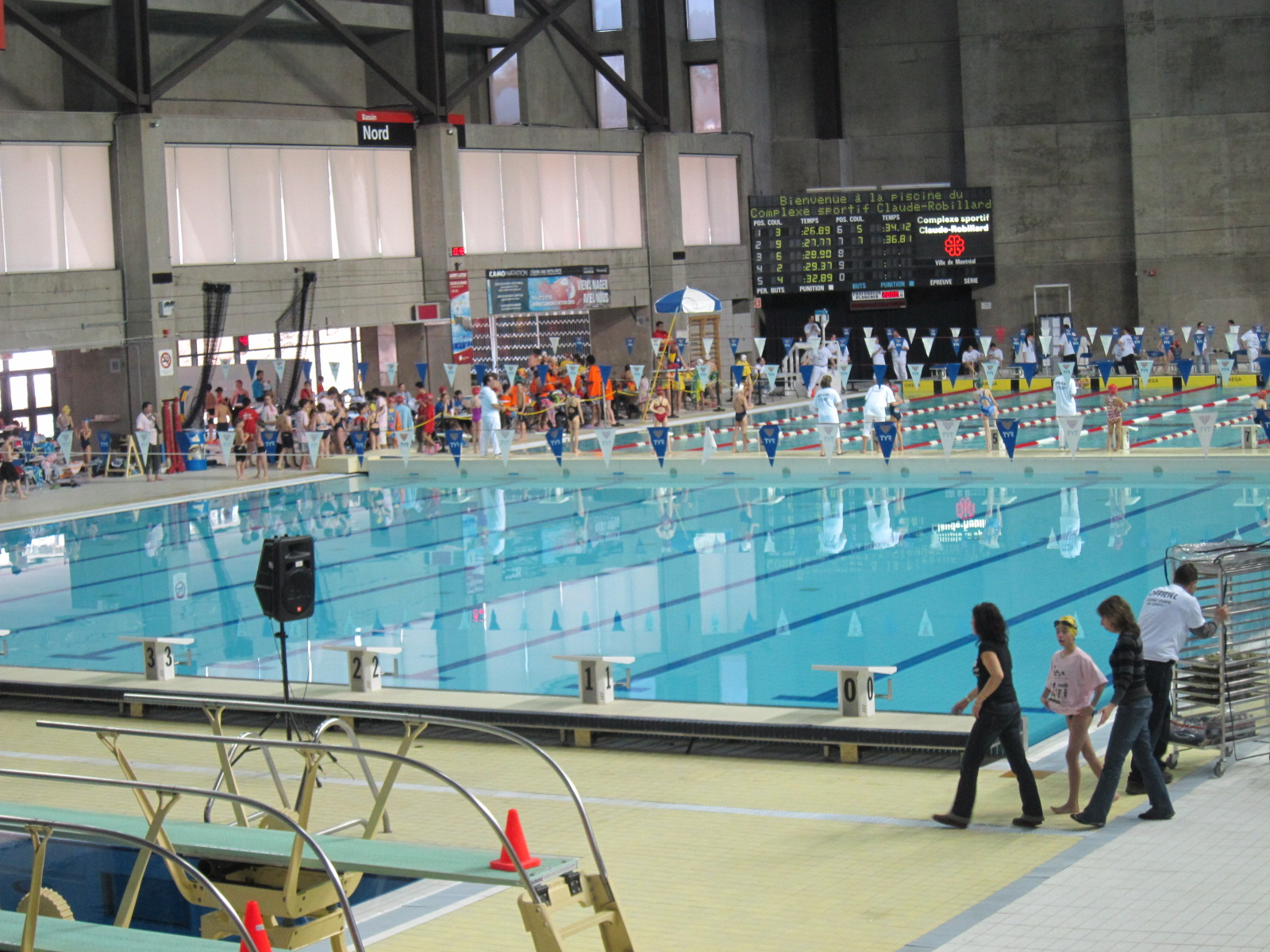 Natation vasion cr7 for Centre claude robillard piscine