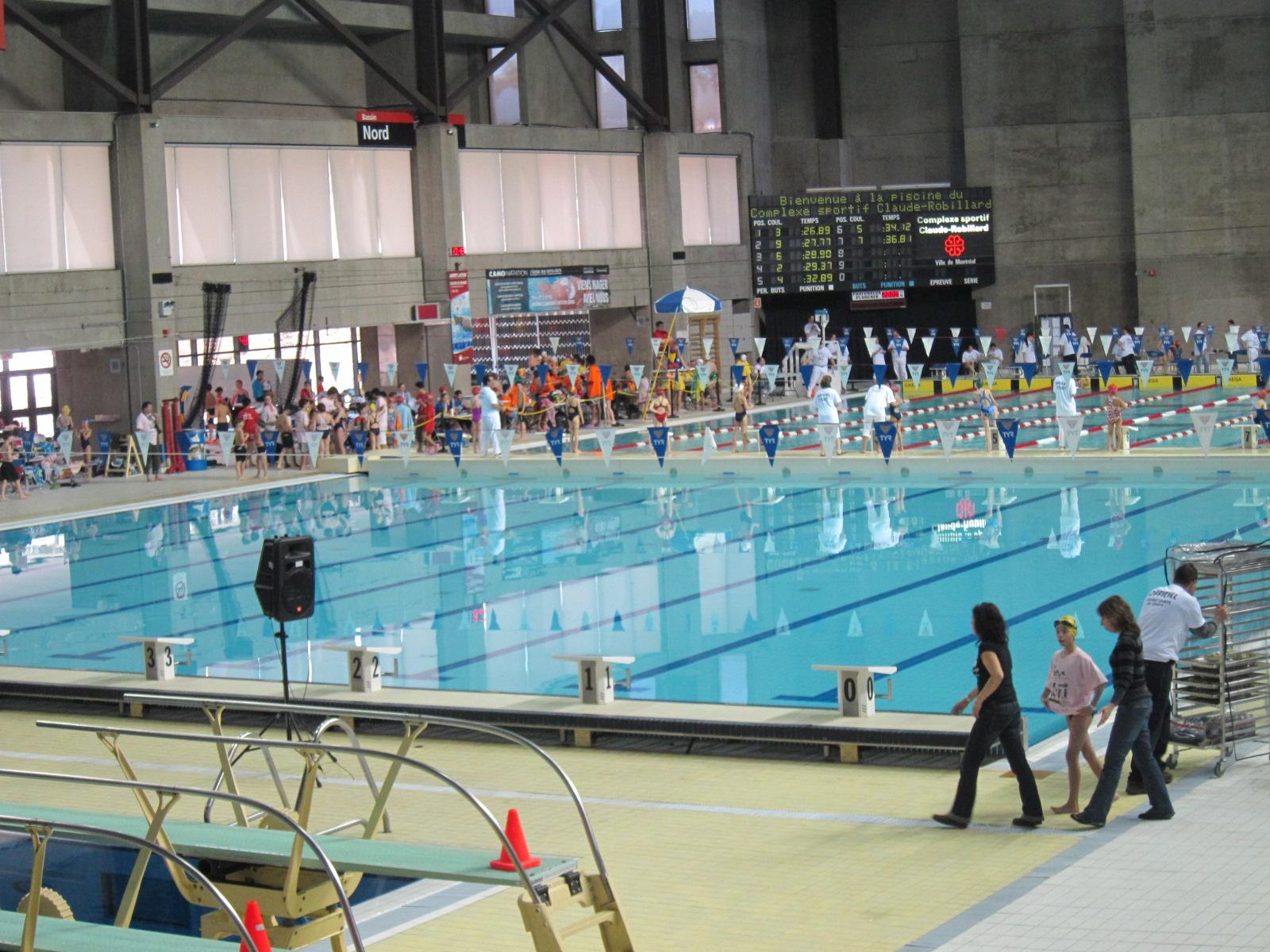 Complexe sportif claude robillard image for Centre sportif terrebonne piscine
