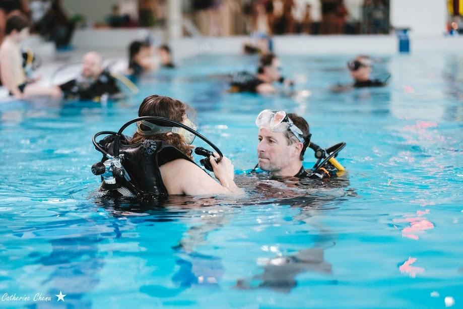 Nouveau succ s pour le fil rouge de natation radio piscine for Piscine levallois