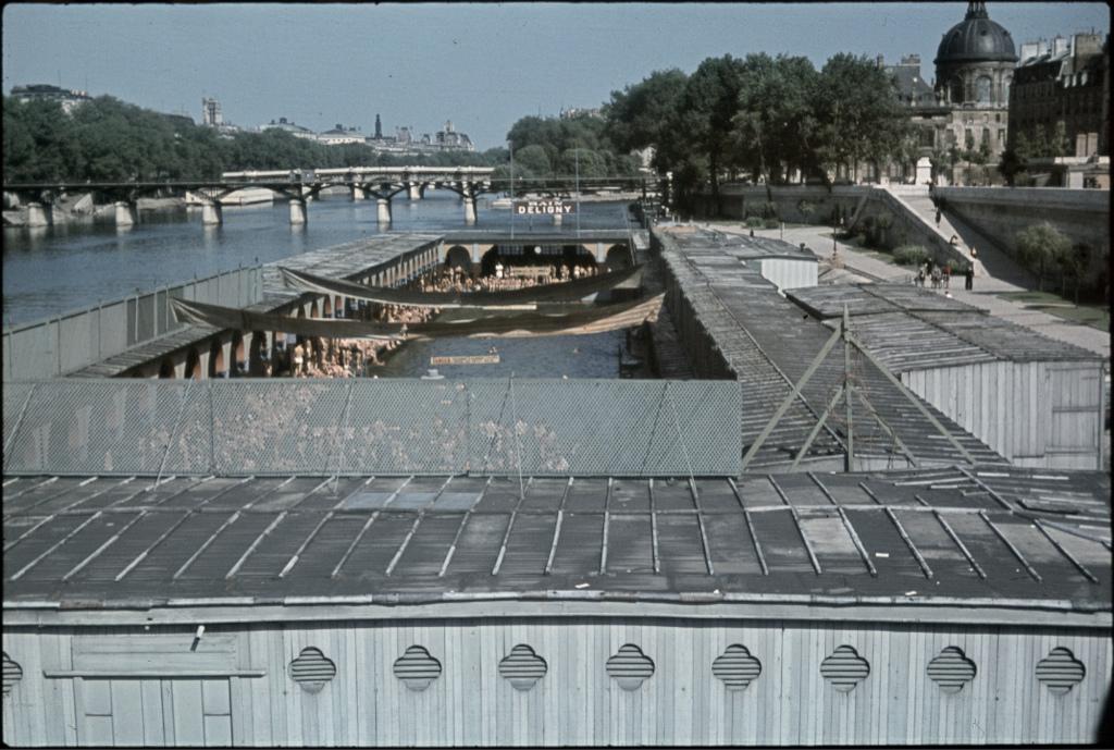 La piscine Deligny, une piscine disparue