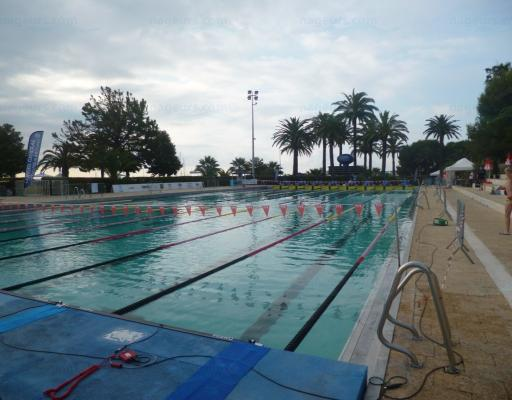 Stade nautique piscine municipale antibes for Piscine campelieres