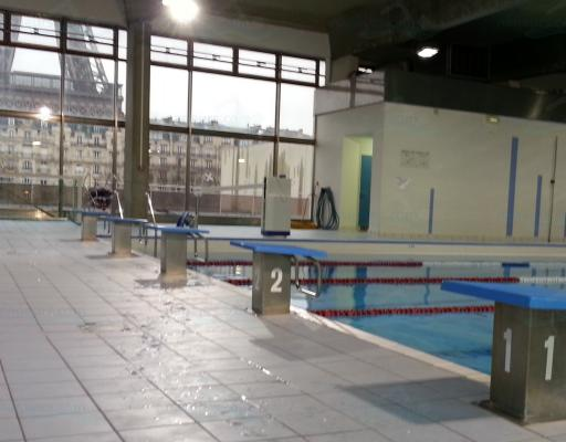 Piscine Emile Anthoine à Paris