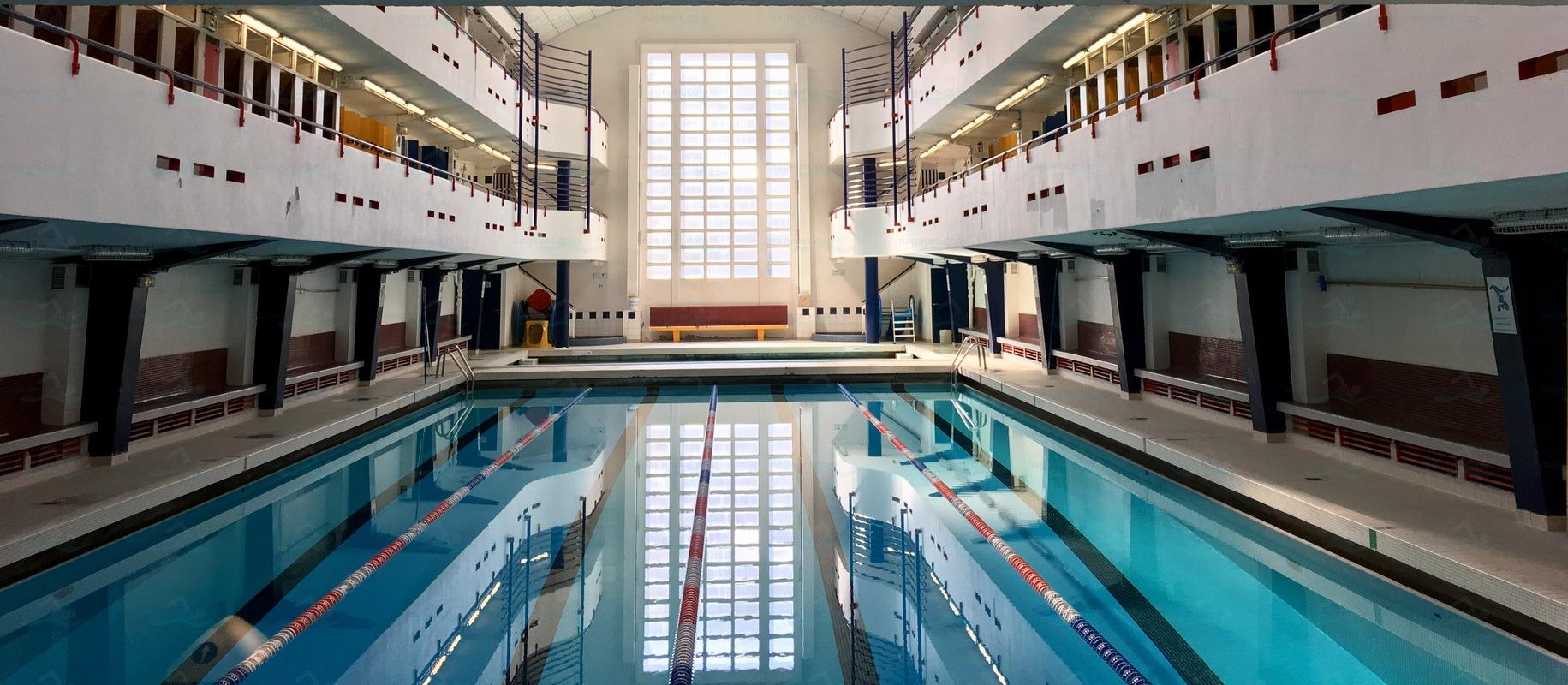 Le guide des 65 piscines de paris for Champerret piscine