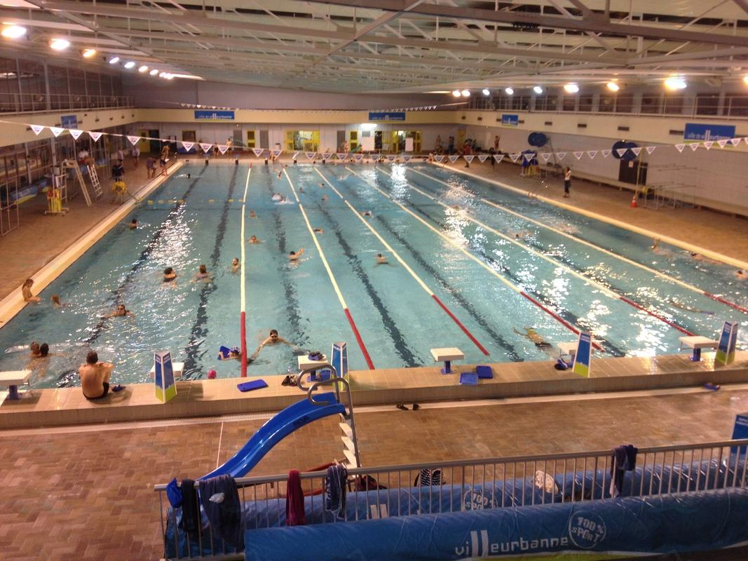 Le guide des 4 piscines de villeurbanne for Piscine universitaire