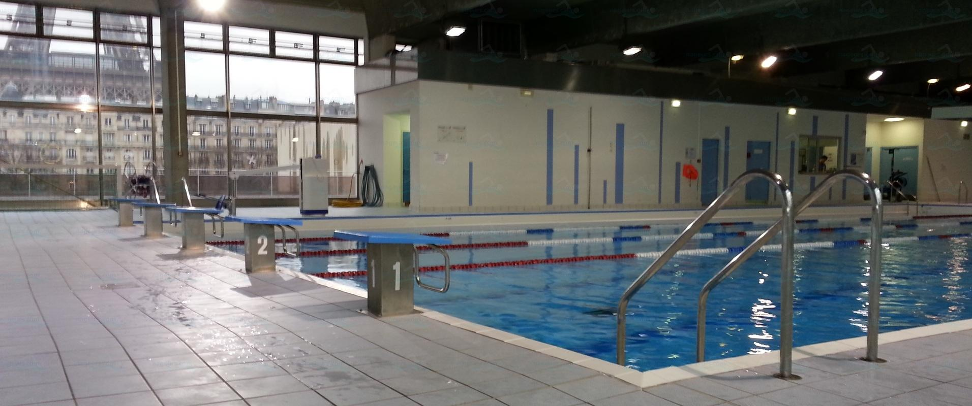 Le guide des 65 piscines de paris for Piscine emile anthoine