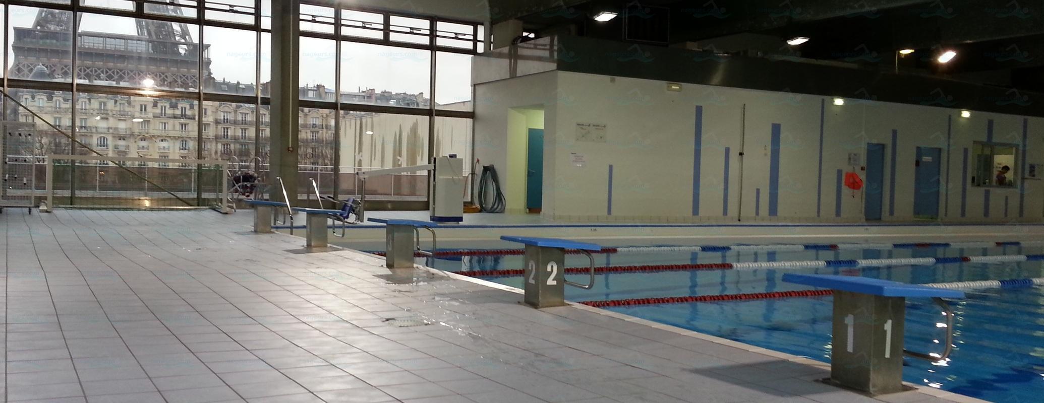 Photos piscine emile anthoine for Horaires piscine beaujon