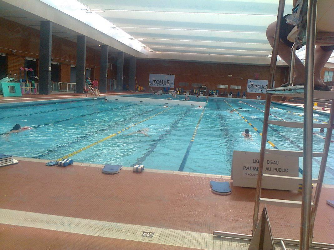 Le guide des 5 piscines de tours for Piscine tours