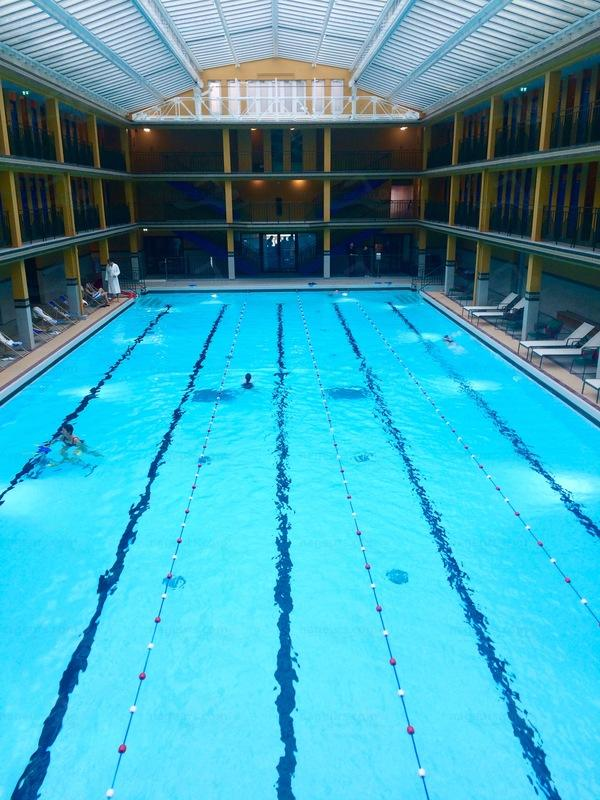 Le guide des 66 piscines de paris for Piscine 50m paris