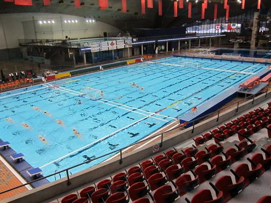 Stade olympique de montr al for Piscine 50 metres