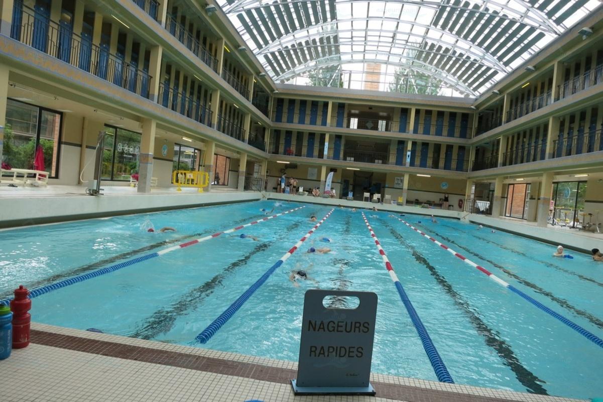 Photos piscine pailleron - Piscine des tourelles paris ...