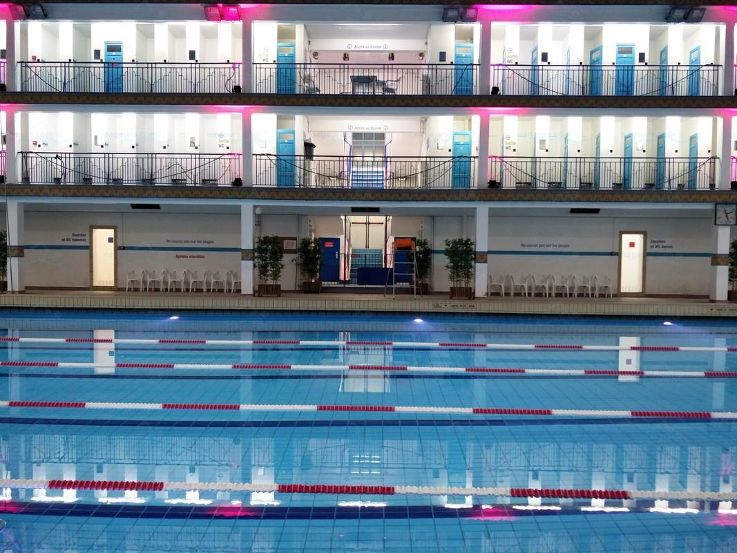 Le guide des 66 piscines de paris for Piscine georges rigal