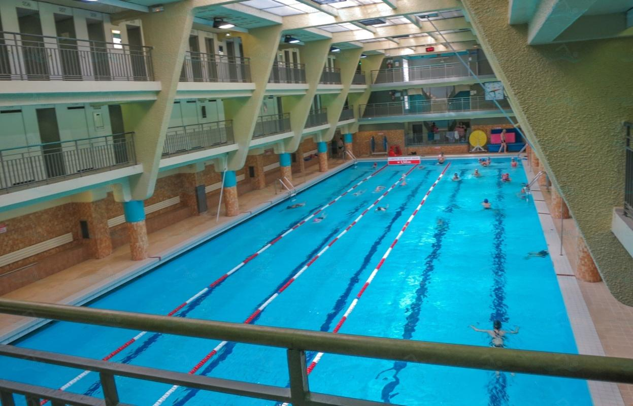 Le guide des 65 piscines de paris for Piscine odeon