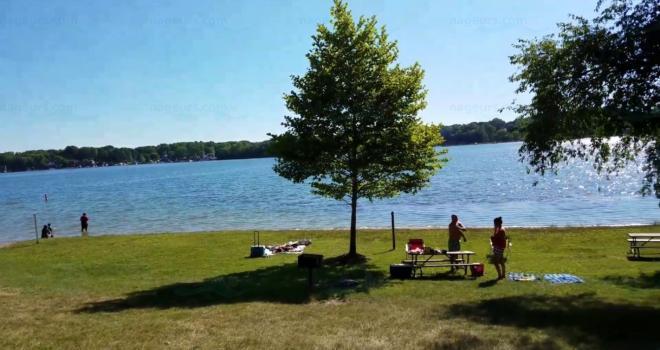 Silver Lake, Pinckney, Michigan
