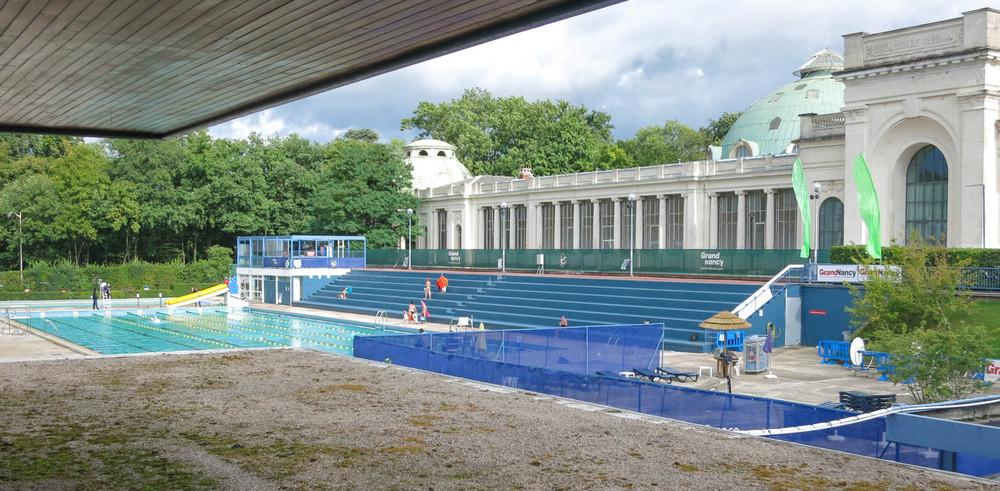 Piscine olympique de plein air louison bobet - Nancy thermal piscine ronde ...