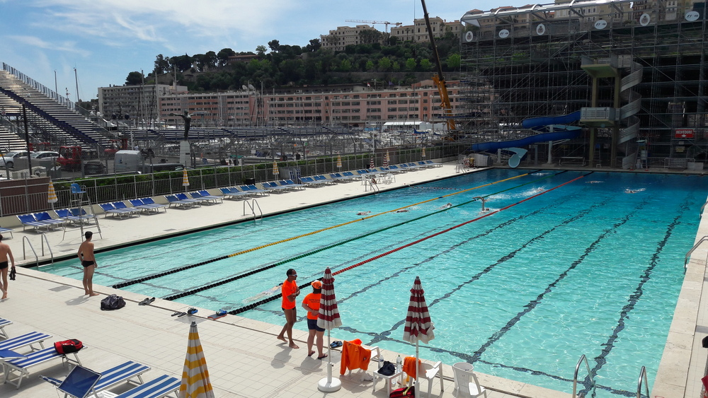Piscine monaco for Piscine olympique nice
