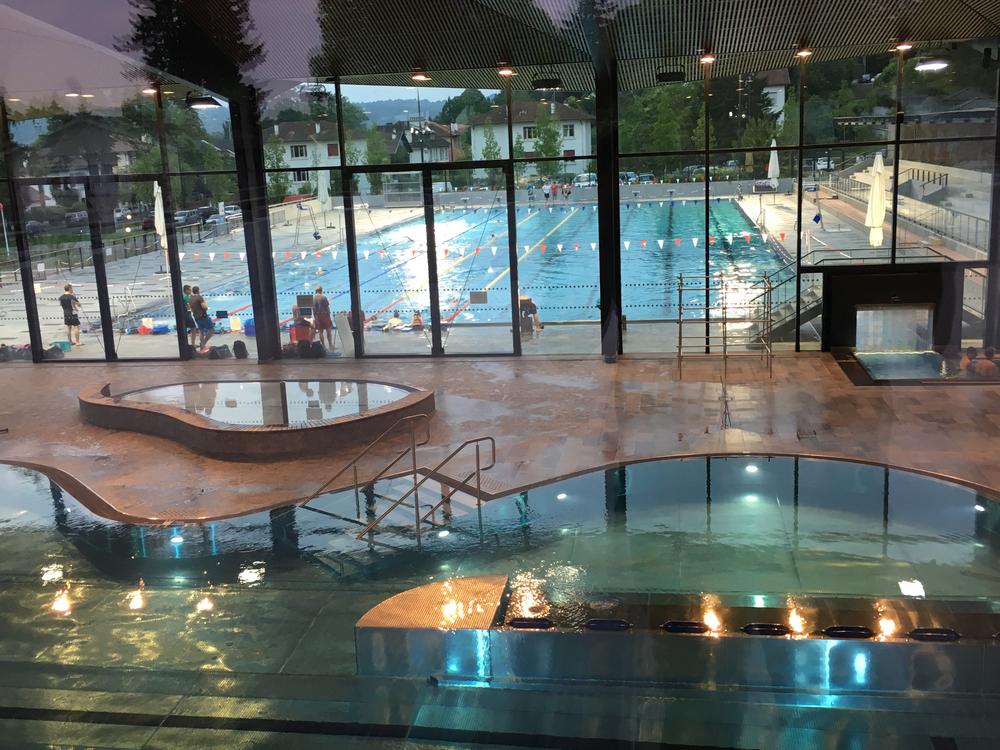 Stade nautique de pau for Piscine aqualons