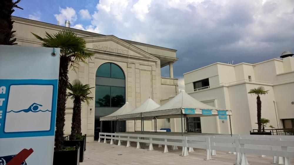 Palais des sports de l 39 le de puteaux for Piscine du palais des sports a nanterre nanterre