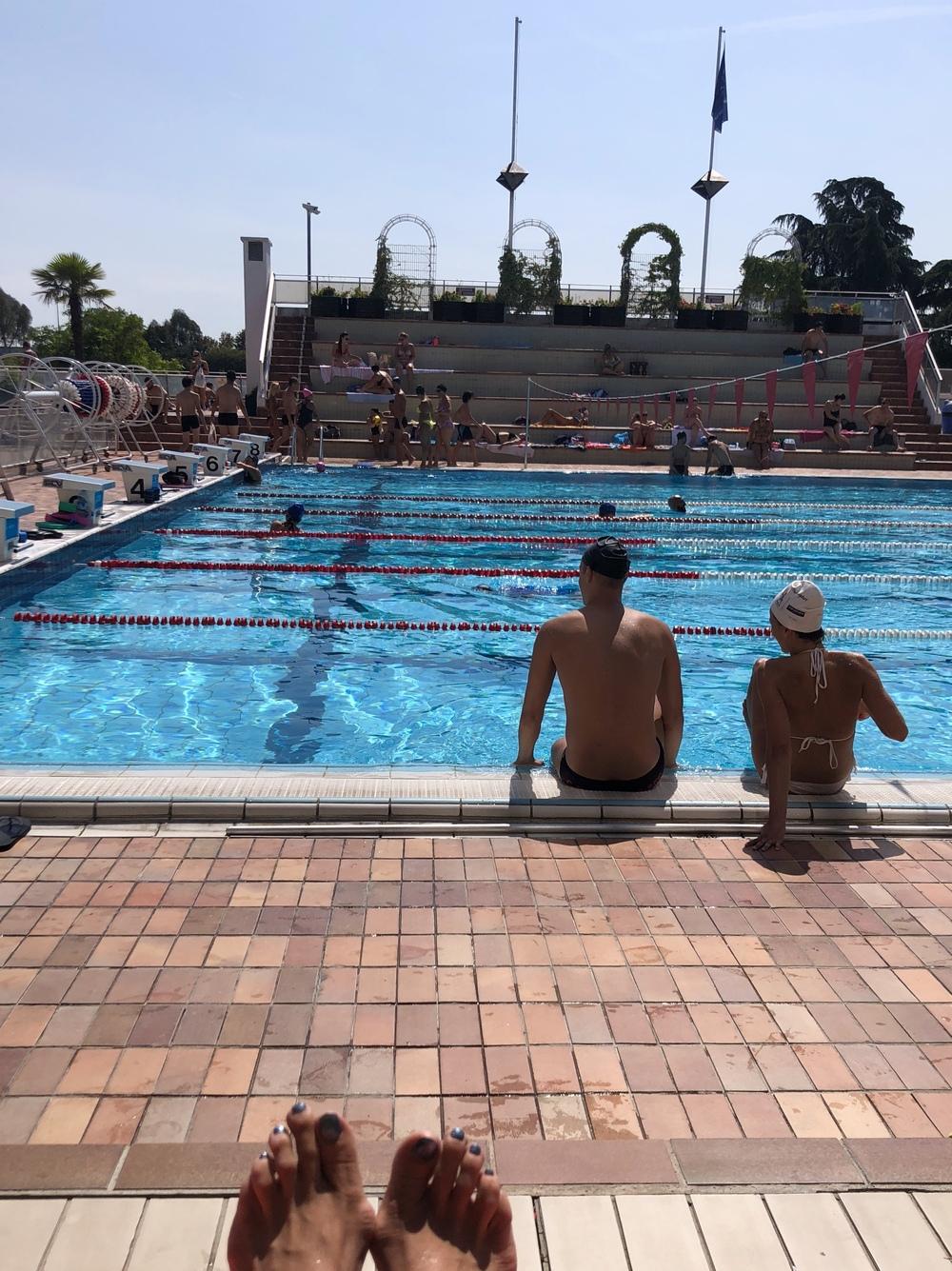 Rencontre piscine roger le gall